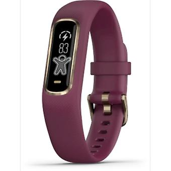 Garmin - Activity Tracker - Vivosmart 4 dark red-rose S-M - 010-01995-01