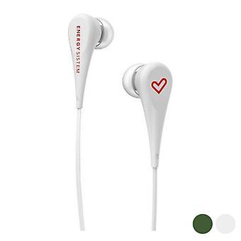 Nos fones de ouvido Energy Sistem 3.5 mm (1,2 m)/Verde