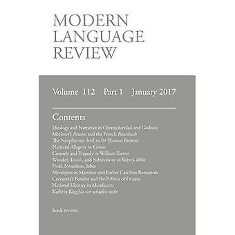 Modern Language Review 1121 January 2017 by Connon & D. F.