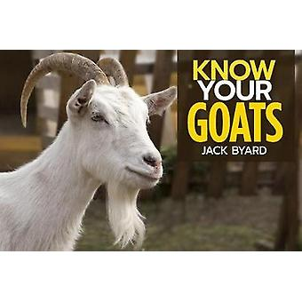 Know Your Goats by Jack Byard - 9781912158485 Book