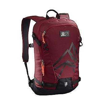 SALOMON L40375500-Light ski rugzak 18 l kant 18 Unisex Adult-rood/zwart (fietsen rood/zwart)
