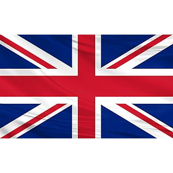 Deluxe Union Jack Large Flag 5ft x 3ft