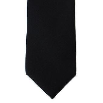 Michelsons Lontoo tavallinen Toimikas silkki solmio - musta