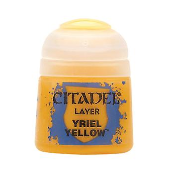 Yriel Yellow, Citadel Paint - Couche, Warhammer 40 000/Age of Sigmar