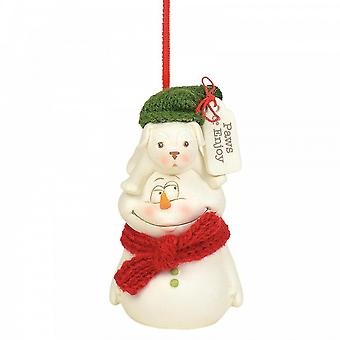 Snowbabies Paws And Enjoy Hanging Ornament