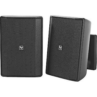 Electro Voice EVID-S5.2B Væghøjttaler 8 Ω Sort 1 Par