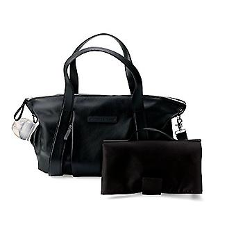 Storksak leather bag - Black Bugaboo