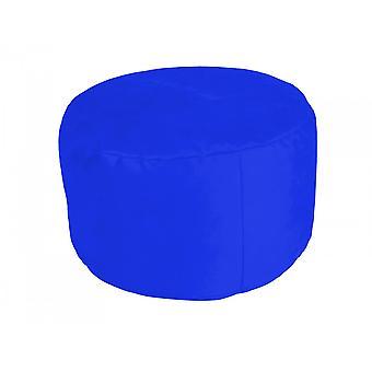 Pouf noble soft royal blue Ø47/34 cm