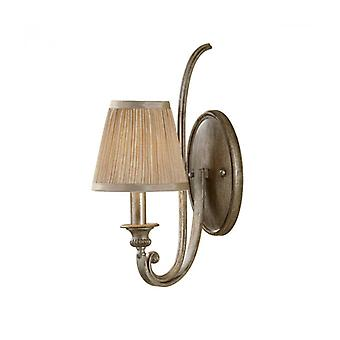 Abbey Wall Lamp, 1 Bulb, With Lampshade