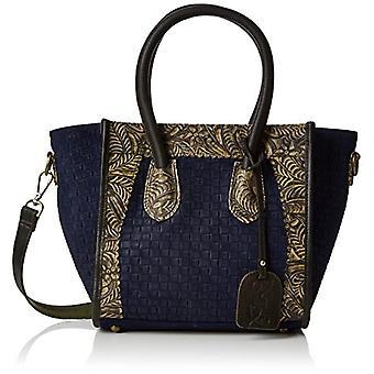 Laura Vita Canberra-anna 11 - Tote Bags Donna Blau (Bleu) 13x24x40cm (B x H T)