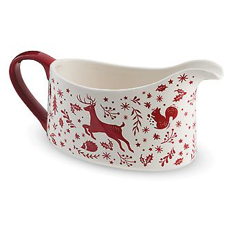 Cooksmart Winter Wonderland Gravy Boat