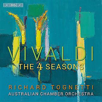 Vivaldi / Tognetti / orquesta de cámara australiana - importación de Estados Unidos cuatro estaciones [SACD]