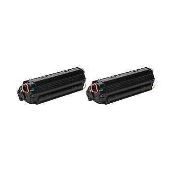 RudyTwos 2 x reemplazo de HP 79 X unidad de Toner negro Compatible con Laserjet Pro M12, M12a, M12w, M26A MFP, M26nw MFP