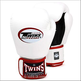 Twins special air boxing gloves - white black