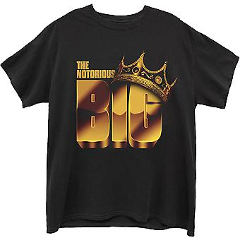 Biggie Smalls The Notorious Official Tee T-Shirt Mens Unisex