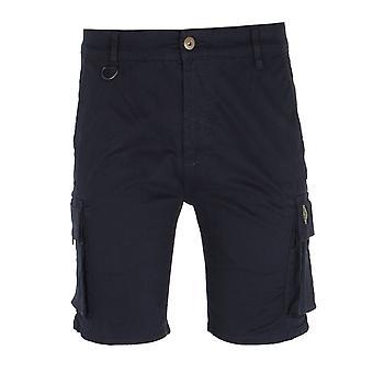 Luke 1977 Club Future Navy Cargo Shorts