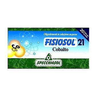 Fysiosol 21 Kobalt 20 ampullen