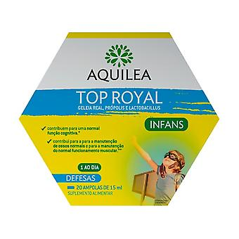 Aquilea Top Royal Infans 20 ampoules of 15ml