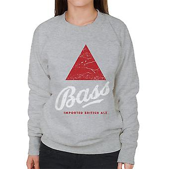 Bass Red Triangle Classic Logo Femme-apos;s Sweatshirt