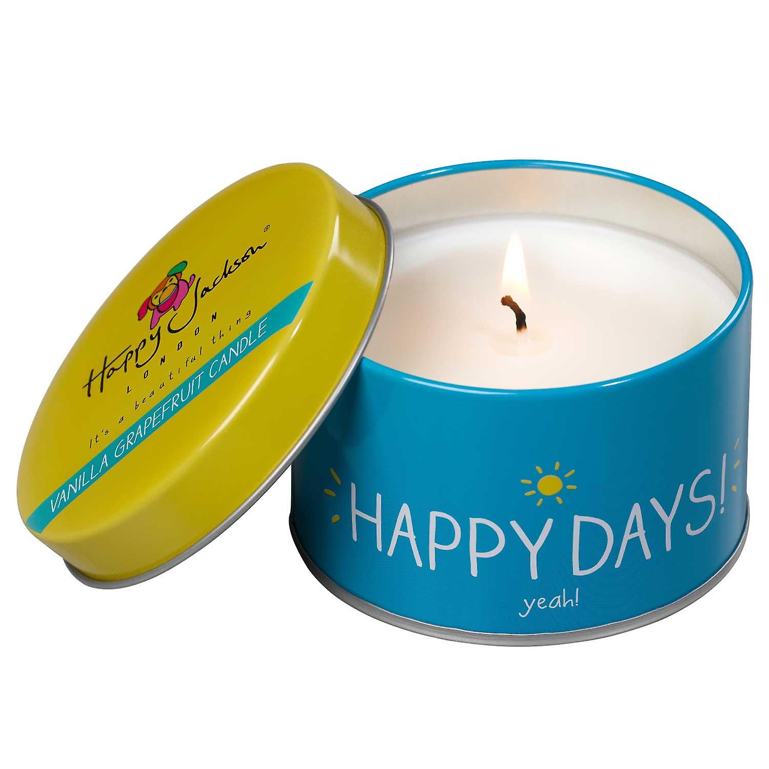 Happy Days! Yeah! Candle by Happy Jackson and Wild & Wolf