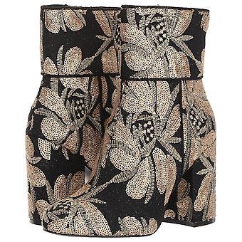 Steve Madden Womens Goldie Fabric fermé orteils bottines Fashion
