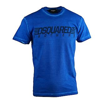 Dsquared2 Brothers Cool Fit Blue T-Shirt