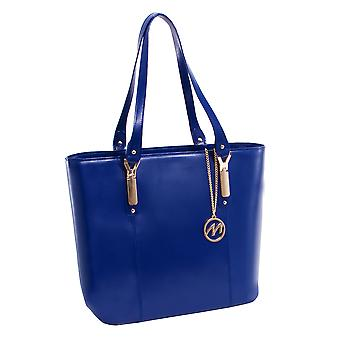 97577, Leather Ladies' Tote With Tablet Pocket