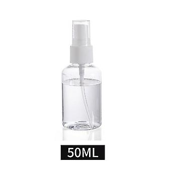 Transparent Refillable Bottles -plastic Perfume Bottle
