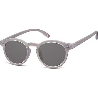 "Sunglasses Unisex Panto Cat.3 grey (""s28b"")"