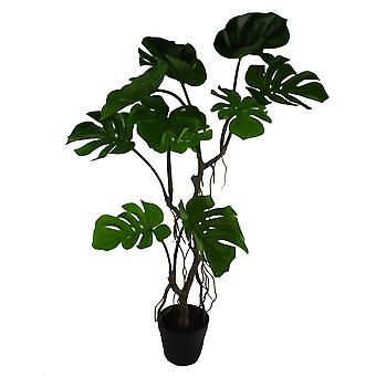 90cm Artificial Twisted Stem Monstera Plant