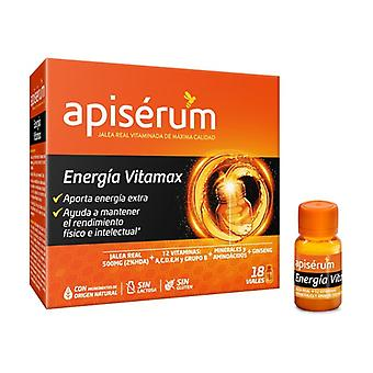 Apiserum الطاقة فيتاماكس 18 قوارير