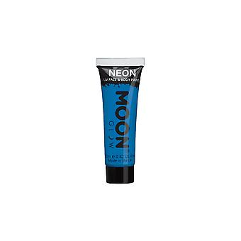 Smiffy's Moon Glow Intense Neon UV Face Paint - Azul