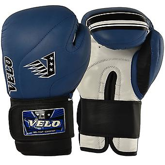 VELO Cowhide Leather Boxing Gloves DSH3