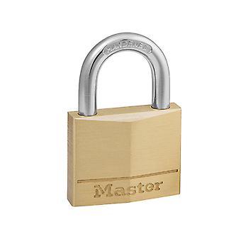 Master Lock Massiv Mässing 40mm Hänglås 4-Pin MLK140