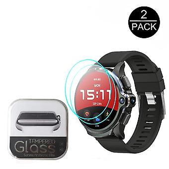 "2pcs 2.5d 9h Tempered Glass For Kospet Prime 1.6"" Gps Smartwatch Glass, Hd"