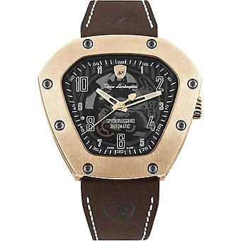 Tonino Lamborghini - wristwatch - men - Spyderleggero skeleton - rose gold - TLF-T06-5