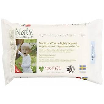 Nature Baby - Wipes - Lightly Scented Sensitive