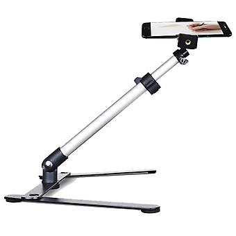 Adjustable Table Top Stand Set -mini Monopod+phone Clip