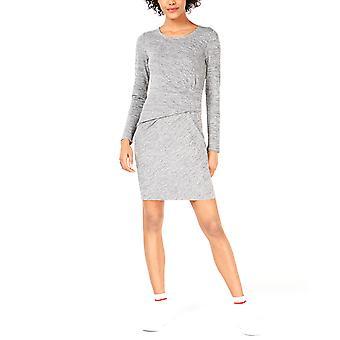 Bar III   Ruched-Waist Dress