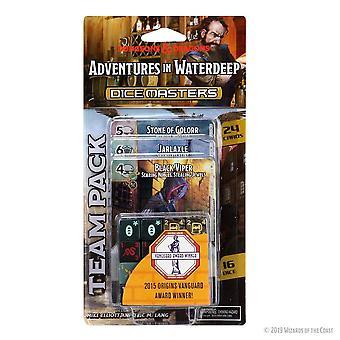 D&D Noppamestarien seikkailut Waterdeep Team Packissa
