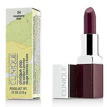 Clinique Pop Lip Colour + Primer - # 24 Rasperry Pop 3.9g or 0.13oz