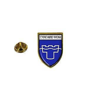 pine pine badge pin-apos;s souvenir stad vlag land wapenschild tyne dragen