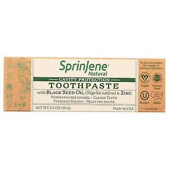 Sprinjene Cavity Protection Toothpaste, 3.5 Oz