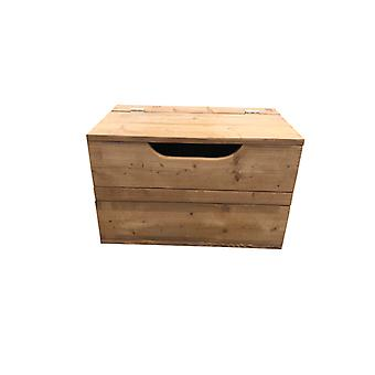 Wood4you - Spielzeugbox Kick Roastedwood 80Lx50Hx50D cm