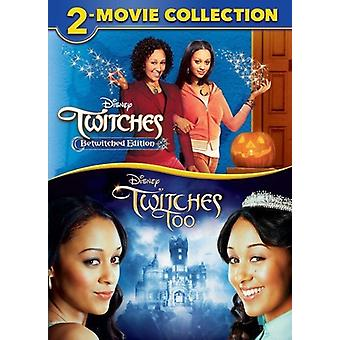 Twitches 2-Movie Collection [DVD] USA import