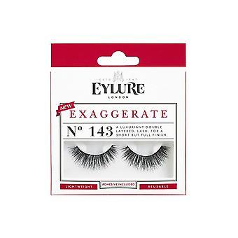 Eylure Exaggerate Double Layered False Eyelashes (no.143)