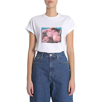Forte Couture Fc1ss18931 Women's White Cotton T-shirt