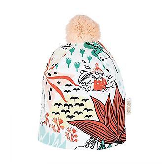 MUMIN Trollskog hat naturlig hvid 46/48