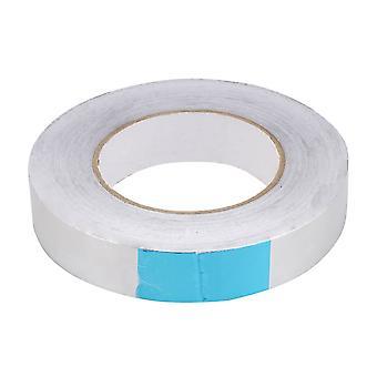 Anti-Aging Flame Resistant Aluminum Foil Tape 80-120��C 25mmx 50m x0.08mm