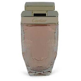 Cartier La Panthere By Cartier Eau De Toilette Spray (tester) 2.5 Oz (women) V728-547401